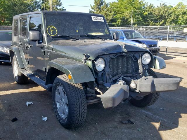 Jeep Wrangler U salvage cars for sale: 2010 Jeep Wrangler U