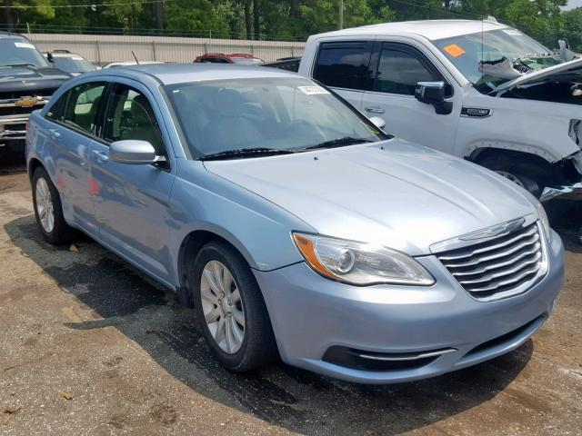 Chrysler salvage cars for sale: 2012 Chrysler 200 Touring