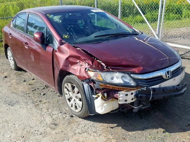 Moncton Car Auction >> 2012 Honda Civic Lx Photos Nb Moncton Salvage Car