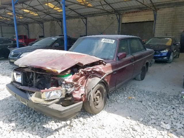 1993 Volvo 240 2 3L 4 for Sale in Cartersville GA - Lot: 45528739