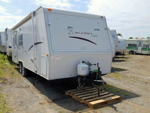 Salvage 2002 Jayco KIWI for sale