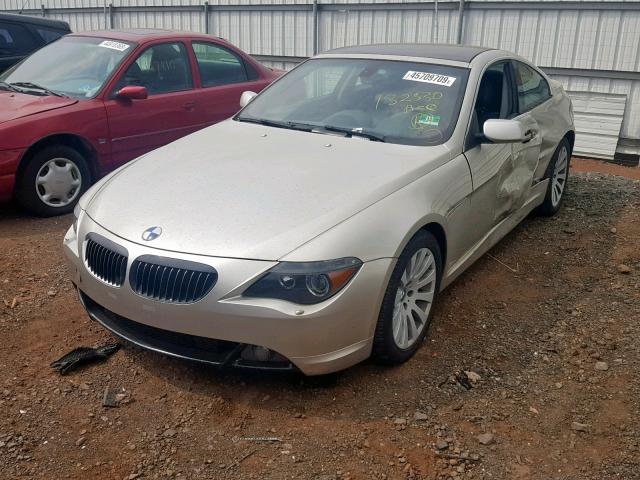 2004 BMW  645 CI AUTO