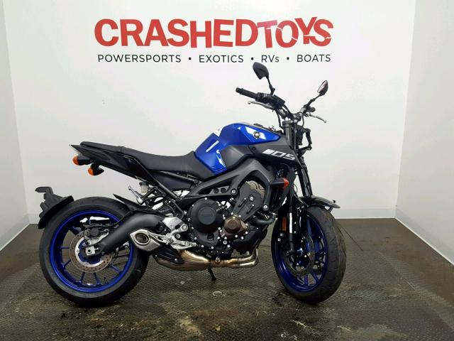 Salvage 2019 Yamaha MT09 for sale
