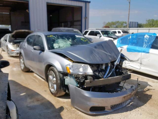 Salvage 2013 Dodge AVENGER SE for sale