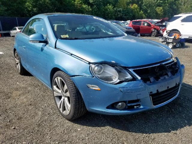 2008 Volkswagen Eos Vr6 3 2l 6 For In Waldorf Md Lot 45877079