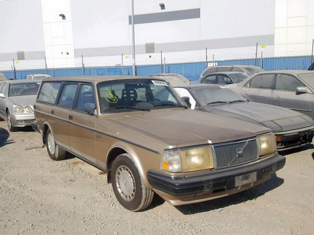 Volvo salvage cars for sale: 1987 Volvo 245 DL