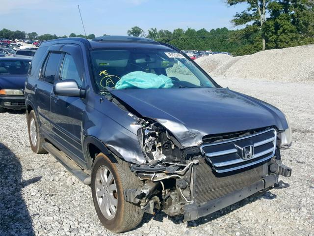 Salvage 2006 Honda CR-V SE for sale