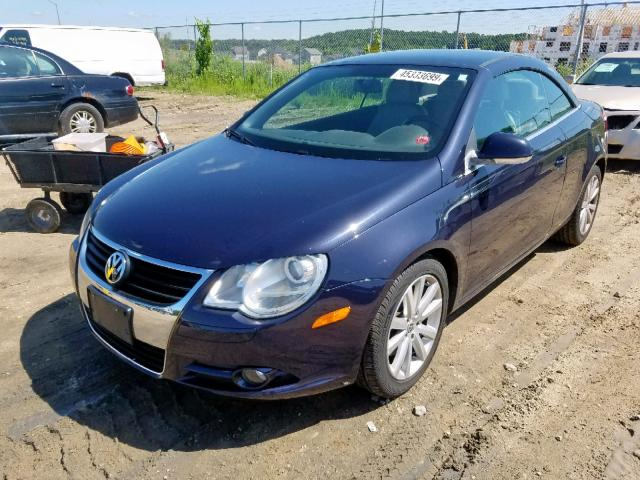 2008 Volkswagen Eos Turbo 2 0L 4 For Sale In Madison WI Lot 45333699