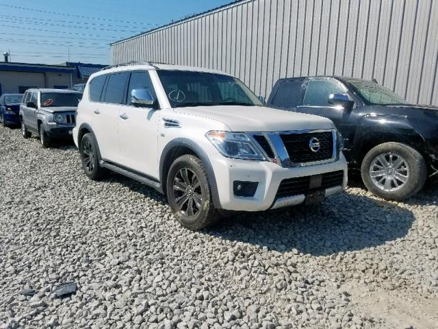 Salvage 2017 Nissan ARMADA PLA for sale