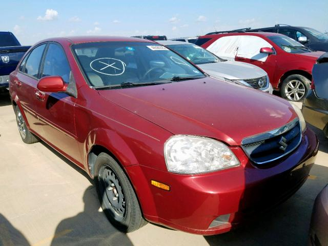Salvage 2007 Suzuki FORENZA BA for sale