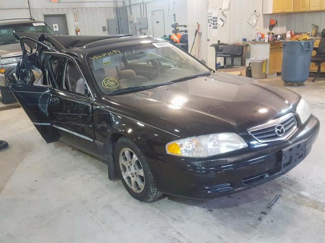 Salvage 2001 Mazda 626 ES for sale