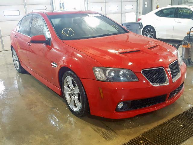 click here to view 2008 PONTIAC G8 GT at IBIDSAFELY