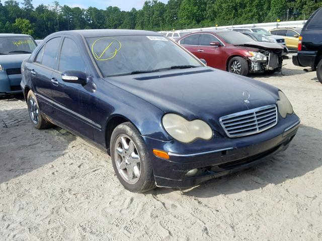 Mercedes-Benz C 320 salvage cars for sale: 2004 Mercedes-Benz C 320