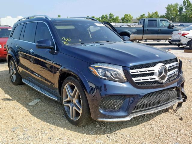 click here to view 2017 MERCEDES-BENZ GLS 550 4M at IBIDSAFELY