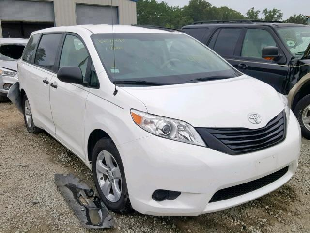 Salvage 2014 Toyota SIENNA for sale