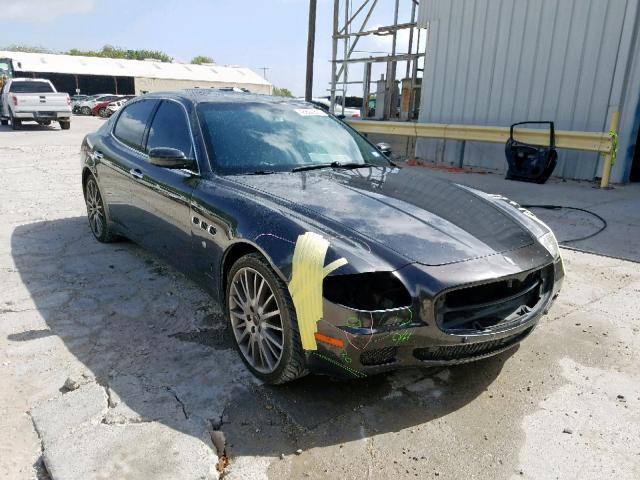 click here to view 2007 MASERATI QUATTROPOR at IBIDSAFELY