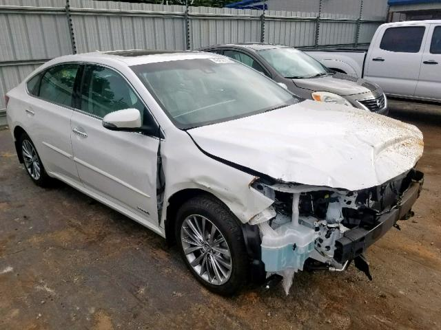 Salvage 2016 Toyota AVALON HYBRID for sale