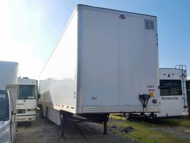 Salvage cars for sale from Copart Rogersville, MO: 2017 Utility 53 FT DRY