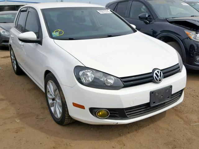 Volkswagen Golf salvage cars for sale: 2013 Volkswagen Golf