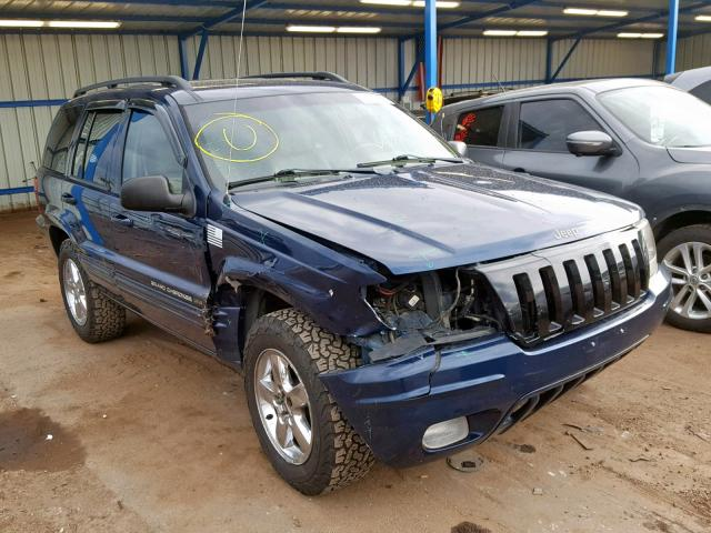 Jeep salvage cars for sale: 2003 Jeep Grand Cherokee