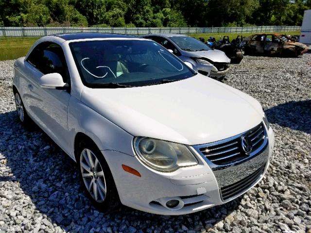 Salvage 2007 Volkswagen EOS 3.2L for sale