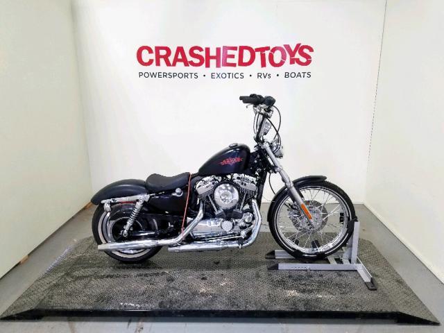 Salvage 2012 Harley-Davidson XL1200 V for sale