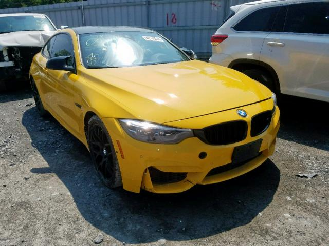 Salvage 2018 BMW M4 for sale
