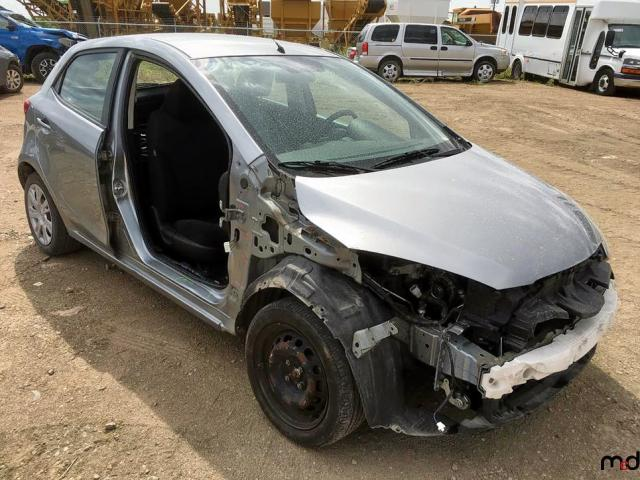 Mazda 2 salvage cars for sale: 2012 Mazda 2