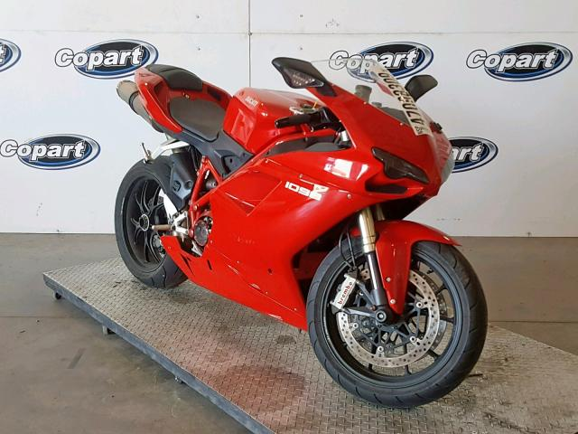 click here to view 2008 DUCATI 1098 BASE at IBIDSAFELY