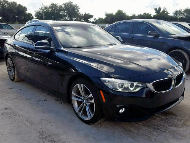 Salvage cars for sale from Copart Punta Gorda, FL: 2015 BMW 428 I Gran