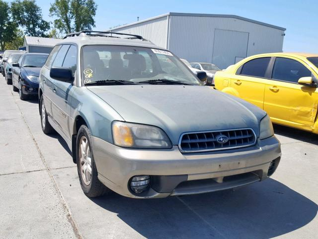 Salvage 2003 Subaru LEGACY OUTBACK for sale