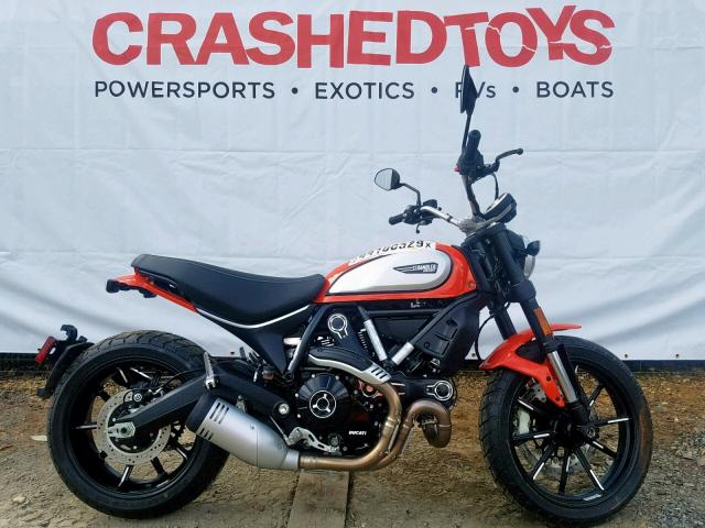 click here to view 2019 DUCATI SCRAMBLER at IBIDSAFELY