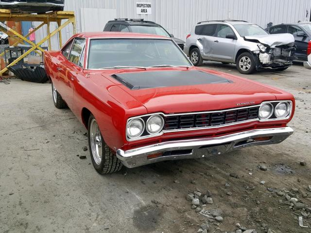 Plymouth salvage cars for sale: 1968 Plymouth Roadrunner