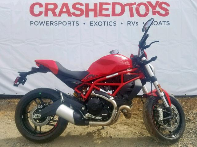 click here to view 2019 DUCATI MONSTER 79 at IBIDSAFELY