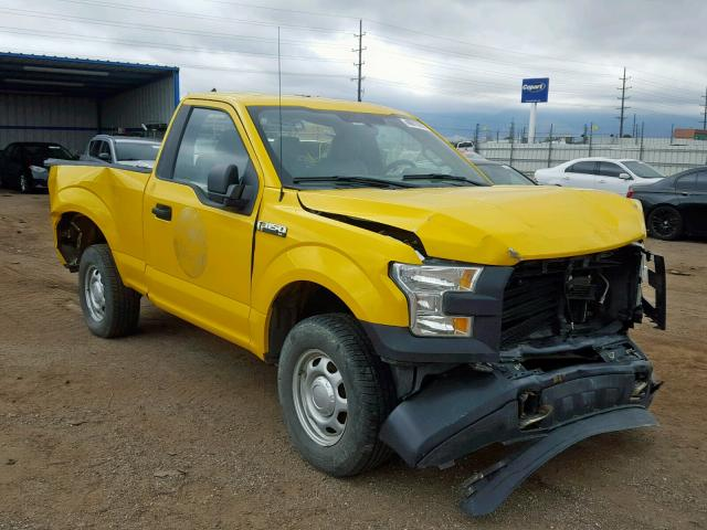 Ford F150 salvage cars for sale: 2015 Ford F150