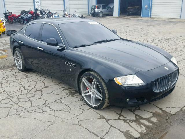 click here to view 2009 MASERATI QUATTROPOR at IBIDSAFELY