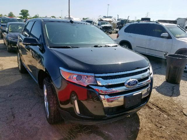 Salvage cars for sale at Woodhaven, MI auction: 2014 Ford Edge Limited