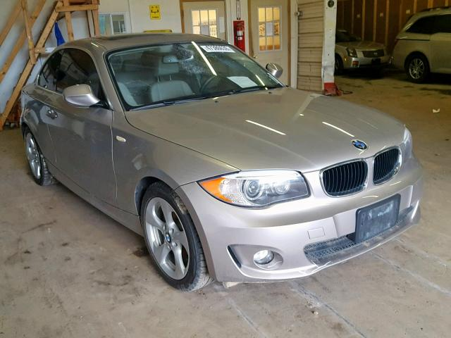 BMW salvage cars for sale: 2012 BMW 128 I