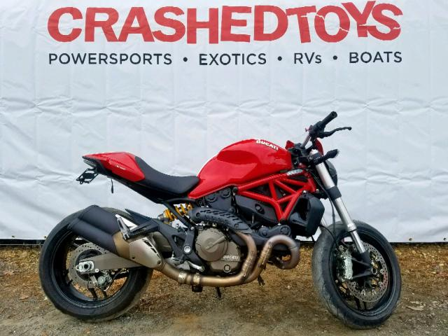 click here to view 2015 DUCATI MONSTER 82 at IBIDSAFELY