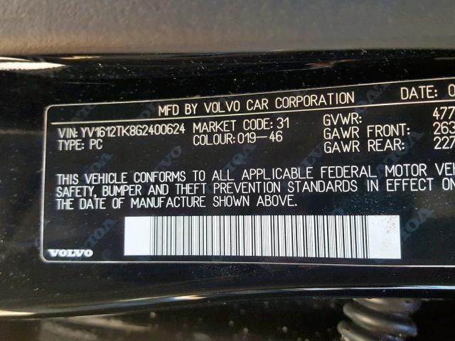 2016 Volvo S60 Premie 2 5L 5 for Sale in Pennsburg PA - Lot: 47252299