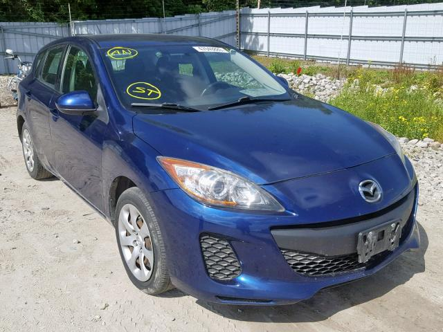 Salvage cars for sale from Copart Ontario Auction, ON: 2012 Mazda 3 I