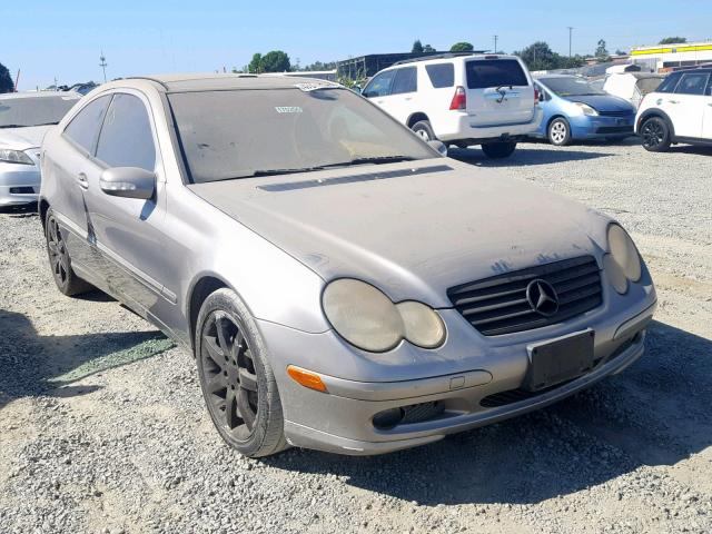 click here to view 2004 MERCEDES-BENZ C 230K SPO at IBIDSAFELY