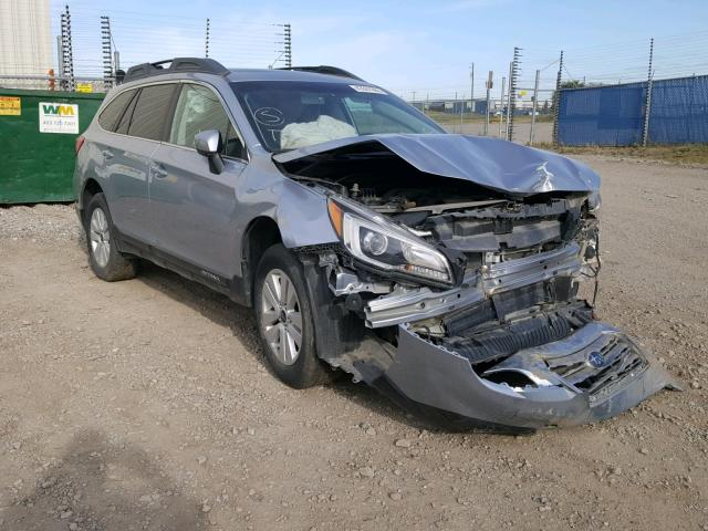 Salvage 2015 Subaru OUTBACK 2 for sale