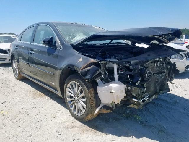 Salvage 2016 Toyota AVALON HYBRID for sale