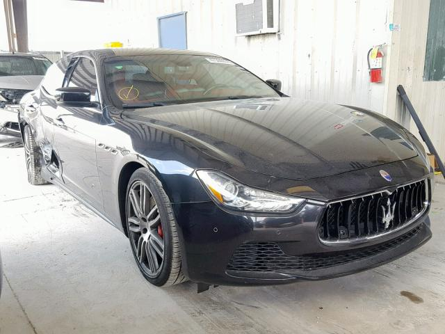 Salvage cars for sale from Copart Homestead, FL: 2014 Maserati Ghibli S