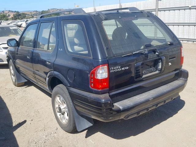 2000 Isuzu Rodeo S 3 2L 6 for Sale in San Martin CA - Lot: 47558719