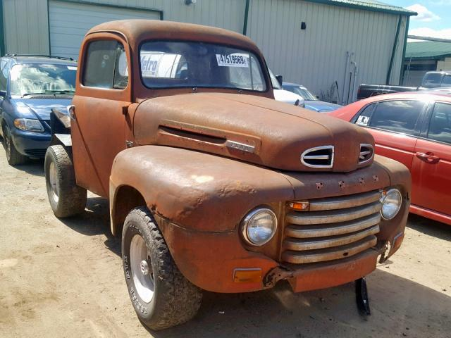 Salvage 1949 Ford F-SERIES for sale