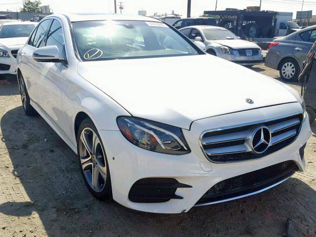 Salvage 2018 Mercedes-Benz E 300 for sale