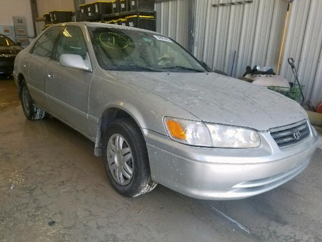 Salvage Certificate 2001 Toyota Camry Sedan 4d 2 2L 4 For