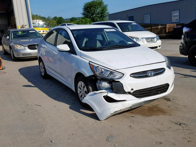 Salvage cars for sale from Copart Duryea, PA: 2017 Hyundai Accent SE